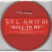 Del Amitri Roll To Me - Audio Enhanced USA CD single Promo