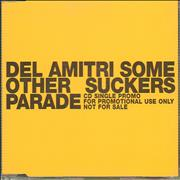 Del Amitri Some Other Suckers Parade UK CD single Promo