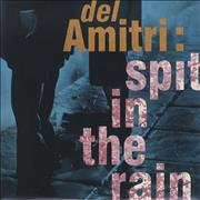 "Del Amitri Spit In The Rain + Poster UK 10"" vinyl"