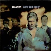"Del Amitri Stone Cold Sober - Mint UK 3"" CD single"