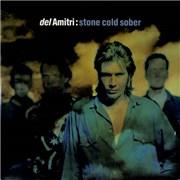 """Del Amitri Stone Cold Sober UK 7"""" vinyl"""