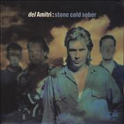 "Del Amitri Stone Cold Sober UK 3"" CD single"