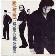 """Del Amitri Stone Cold Sober USA 12"""" vinyl Promo"""