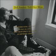 Del Amitri Tell Her This - Promo Stamped USA CD single