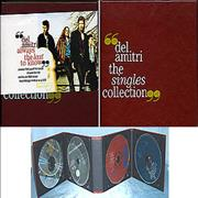 Del Amitri The Singles Collection - Complete + belly band UK cd album box set