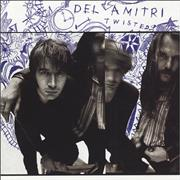 Del Amitri Twisted USA CD album Promo