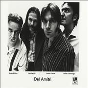 Del Amitri Twisted USA press pack Promo