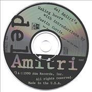 Del Amitri Waking Hours + Introductions By Justin Currie USA CD album Promo