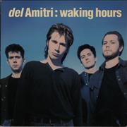 Del Amitri Waking Hours - 1st UK vinyl LP
