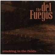 Del Fuegos Smoking In The Fields UK vinyl LP