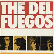 Del Fuegos The Longest Day USA vinyl LP Promo