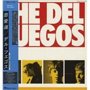 Del Fuegos The Longest Day Japan vinyl LP Promo