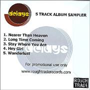 Click here for more info about 'Delays - 5 Track Album Sampler'