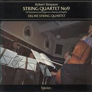 Click here for more info about 'Delmé String Quartet - Robert Simpson: String Quartet No. 9 (32 Variations And Fugue On A Theme Of Haydn)'