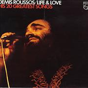 Click here for more info about 'Demis Roussos - Life & Love - His 20 Greatest Songs'