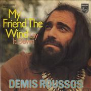 Click here for more info about 'Demis Roussos - My Friend The Wind'