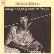 Click here for more info about 'Deniece Williams - Baby, Baby My Love's All For You'