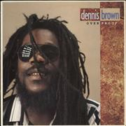 Click here for more info about 'Dennis Brown - Over Proof'