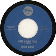 Click here for more info about 'Dennis Brown - West Bound Train'