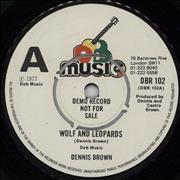Click here for more info about 'Dennis Brown - Wolf And Leopards - A Label'