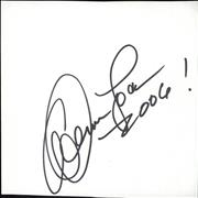 Click here for more info about 'Dennis Locorriere - Autograph'