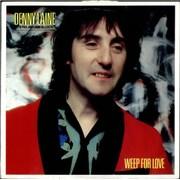 Denny Laine Weep For Love UK vinyl LP
