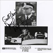 Click here for more info about 'Denzil Washington - Courage Under Fire - Autographed'