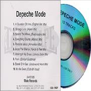 Click here for more info about 'Depeche Mode - 10 Tracks - The Remixes 86>98'