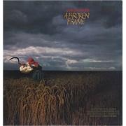 Depeche Mode A Broken Frame - Gold stamped USA vinyl LP