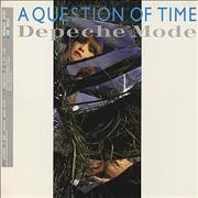Click here for more info about 'Depeche Mode - A Question Of Time / Lust EP - Gold Promo Stamped'