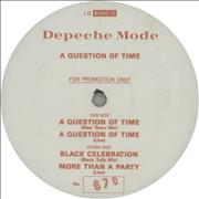 Click here for more info about 'Depeche Mode - A Question Of Time - Numbered Promo'