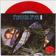 Click here for more info about 'Depeche Mode - A Question Of Time - Red Vinyl'