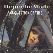 Click here for more info about 'Depeche Mode - A Question Of Time - Writing On Sleeve'