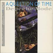 Click here for more info about 'Depeche Mode - A Question Of Time/Lust - Gold stamped'