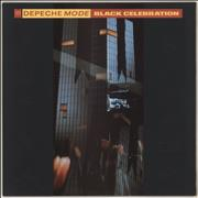Depeche Mode Black Celebration - EX UK vinyl LP