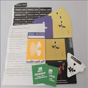 Click here for more info about 'Depeche Mode - Collection of Tour Passes, Stickers & A Set List'