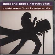 Click here for more info about 'Depeche Mode - Devotional (A Performance Filmed By Anton Corbijn)'