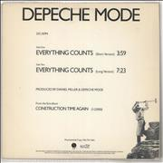 Click here for more info about 'Depeche Mode - Everything Counts'
