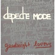 Depeche Mode Goodnight Lovers UK CD single Promo