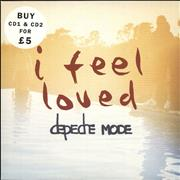 Depeche Mode I Feel Loved UK 2-CD single set