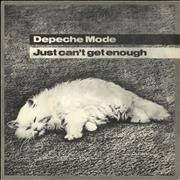 Click here for more info about 'Depeche Mode - Just Can't Get Enough - Solid + P/S'