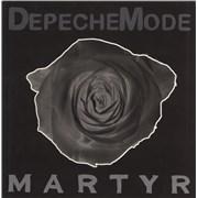 """Depeche Mode Martyr UK 12"""" vinyl"""