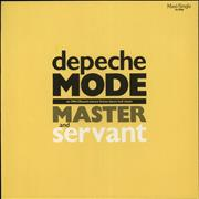 Click here for more info about 'Depeche Mode - Master & Servant - ON-U Sound Science Fiction... Mix'