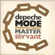 "Depeche Mode Master & Servant - EX UK 12"" vinyl"