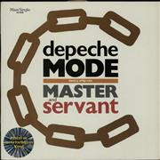 Click here for more info about 'Depeche Mode - Master And Servant  - Marbled - EX'