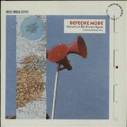 Click here for more info about 'Depeche Mode - Never Let Me Down Again - Grey Marbled Vinyl'