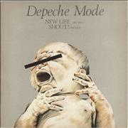 "Depeche Mode New Life - EX UK 12"" vinyl"