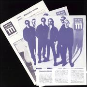 Click here for more info about 'Depeche Mode - New Mute Magazine Special Issue Handbill - March 1992'