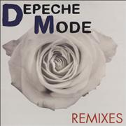 "Depeche Mode Remixes UK 12"" vinyl"