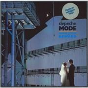 Depeche Mode Some Great Reward - Grey Vinyl - stickered - EX Germany vinyl LP